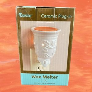 Darice Embossed Plug-In Wax Melter NEW